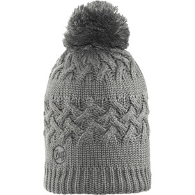 Buff Savva Knitted & Polar Fleece Hat Damen grey castlerock